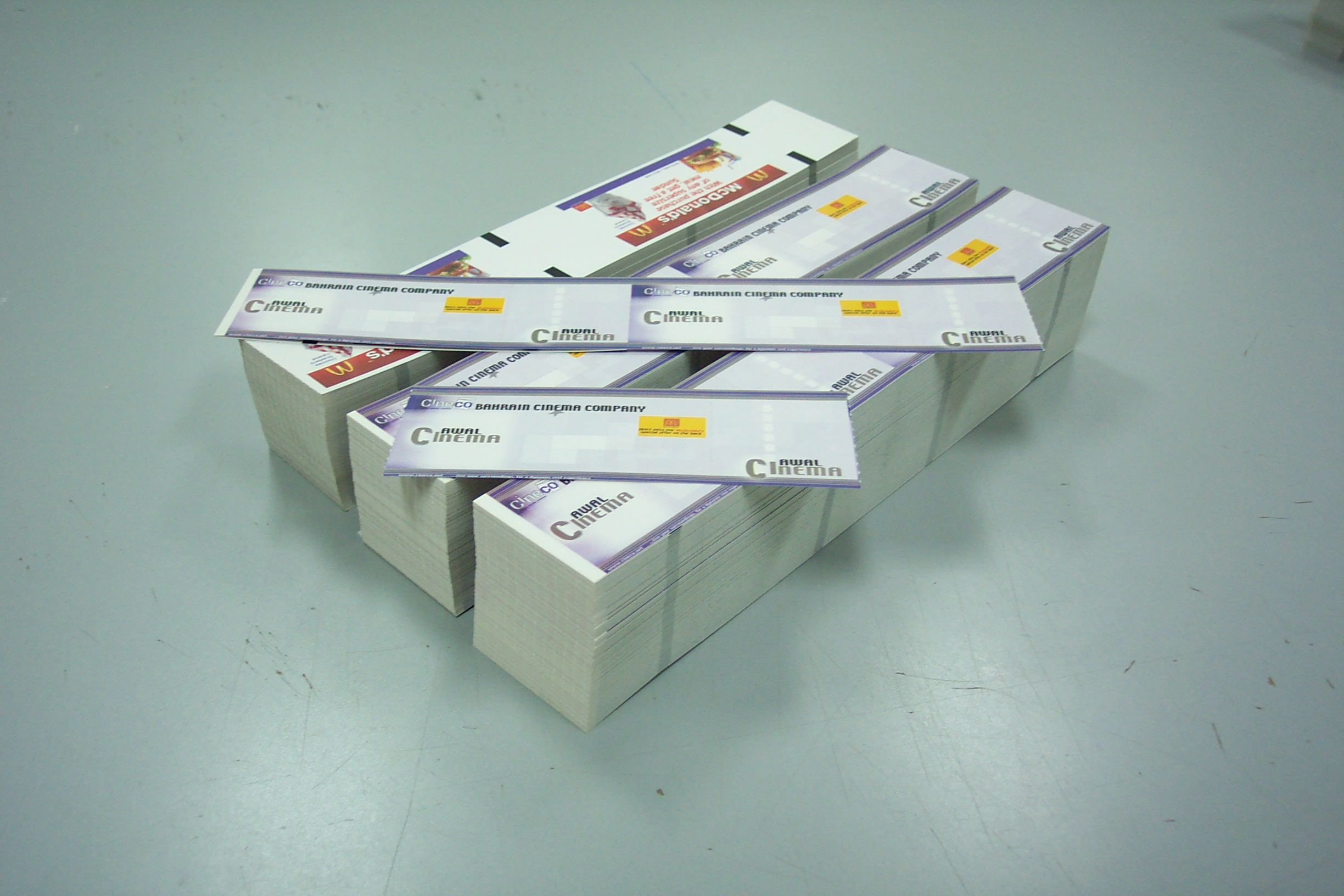 photograph relating to Printable Ticket Paper referred to as Thermal Tickets Least complicated thermal printing thrust inside of dubai, UAE